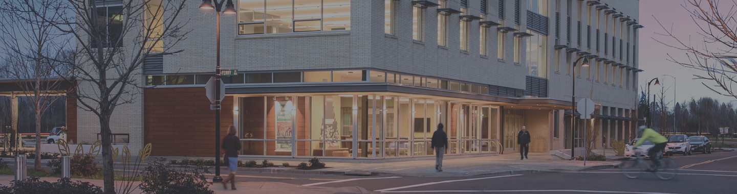 Image of NWCU's Support Center in Downtown Eugene