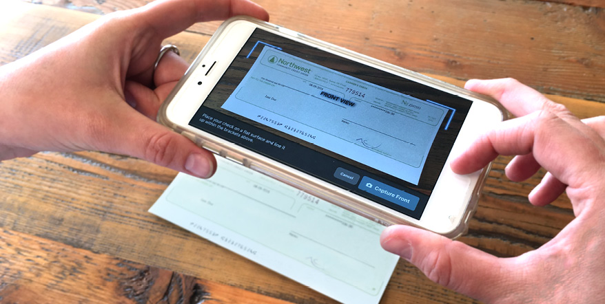Deposit Checks with Your Smartphone