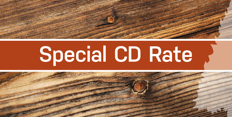 Special CD Rate Graphic