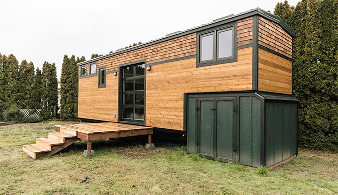 One of S.O. Tiny Homes' buildings