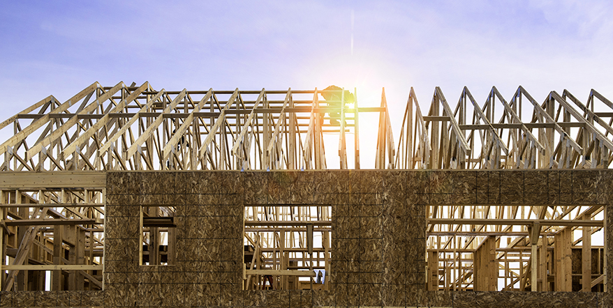 Image of home construction.