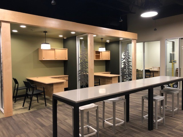Halsey Street branch completed