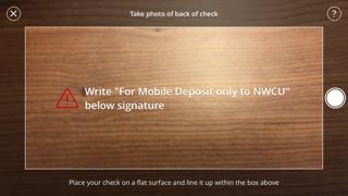 Remote Deposit Capture back of check